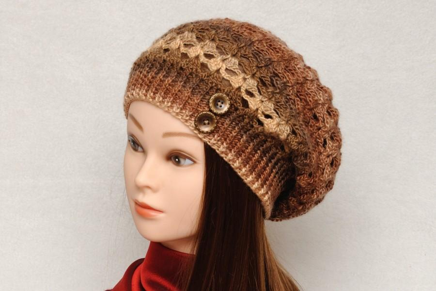 Womens Hats Crochet Hat Slouchy Hat Slouchy Beanie Spring Winter Hat Fall hat  Womens Beanies Womens Accessories Girlfriend Gift for Women aaa26965bcc