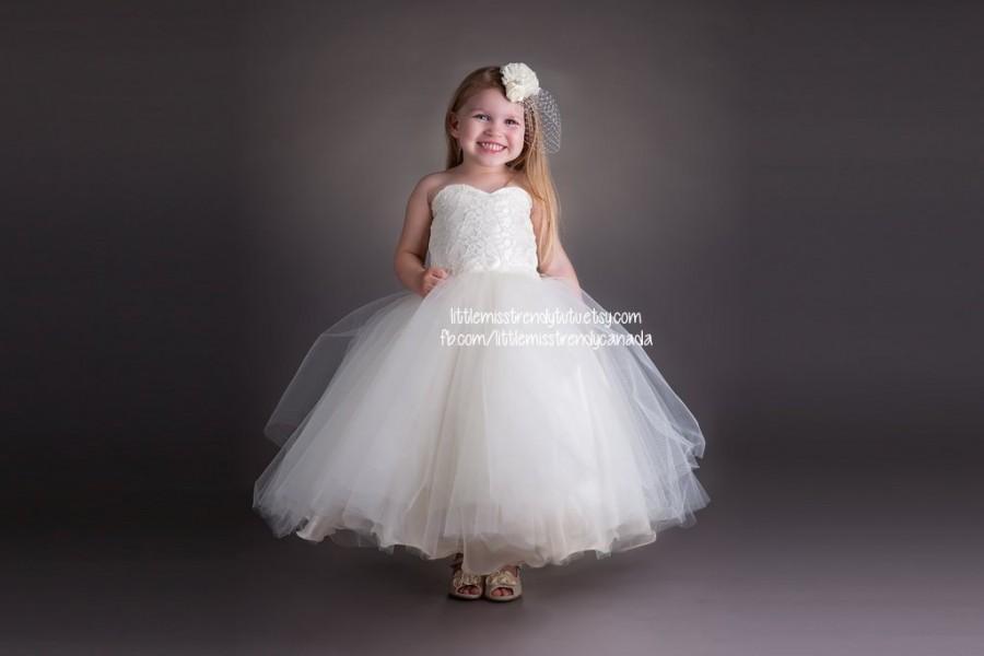 07ed24f92fed Ivory Lace Tutu Dress