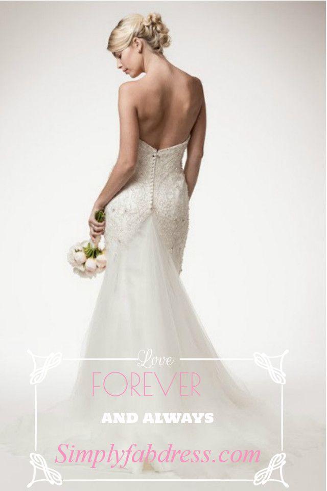 Elegant Fully Beaded Mermaid Wedding Dress 106-frw15514 #2582345 ...