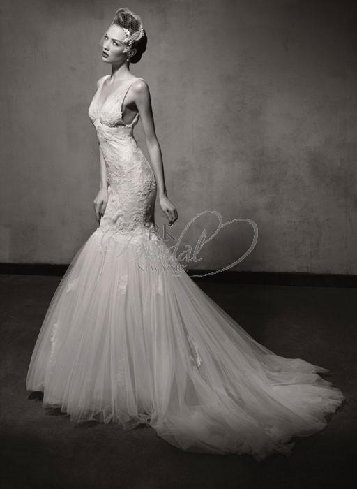 زفاف - Lusan Mandongus Spring 2013- Style LM2440 - Elegant Wedding Dresses