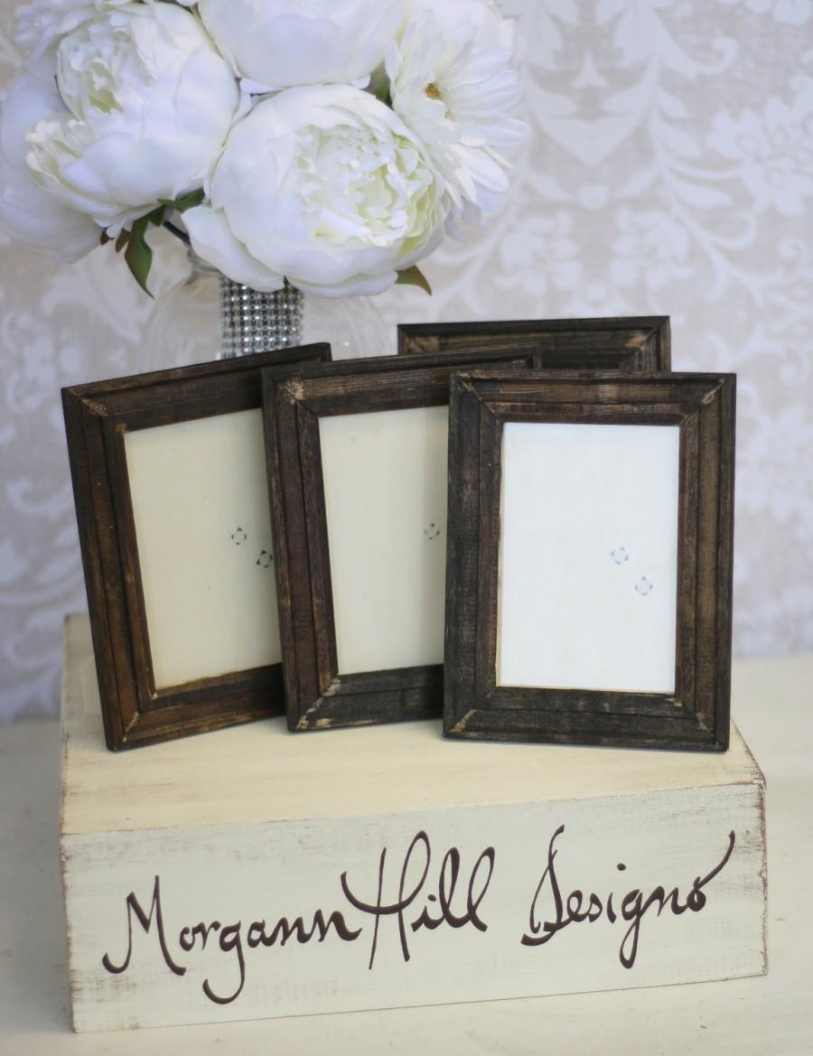 Rustic Wedding Frames Table Number Signs Shabby Chic Decor SET Of 20 ...