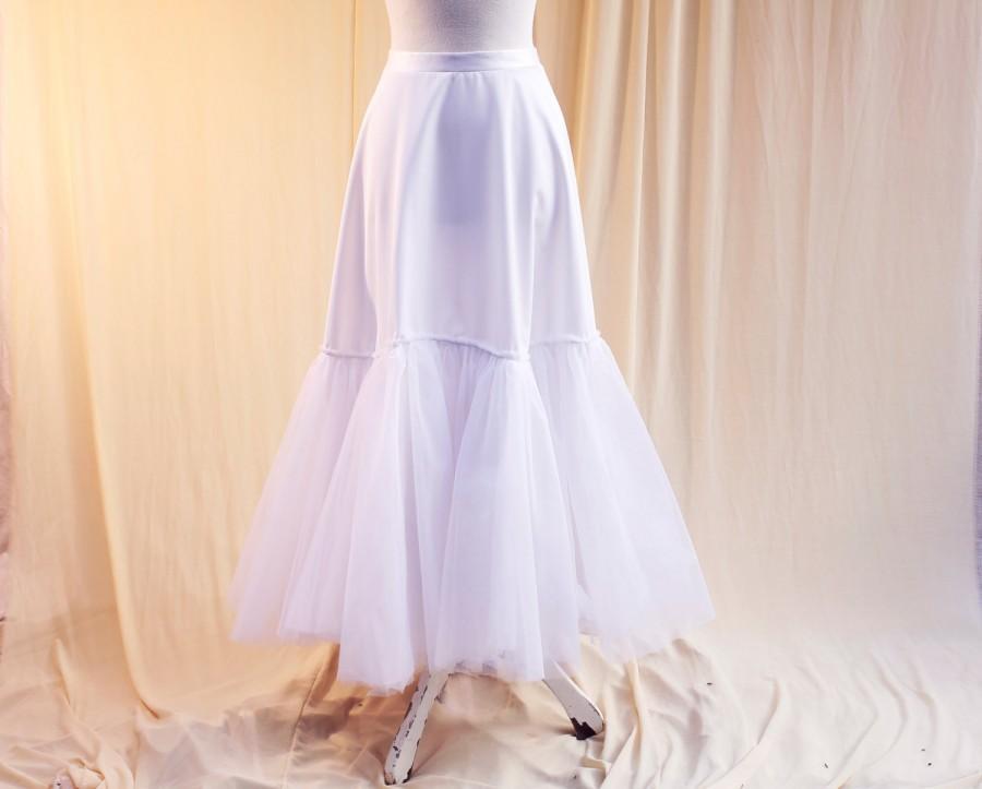 Petticoat Crinoline Petticoat Bridal Slip.White And Radiant Bride Is ...