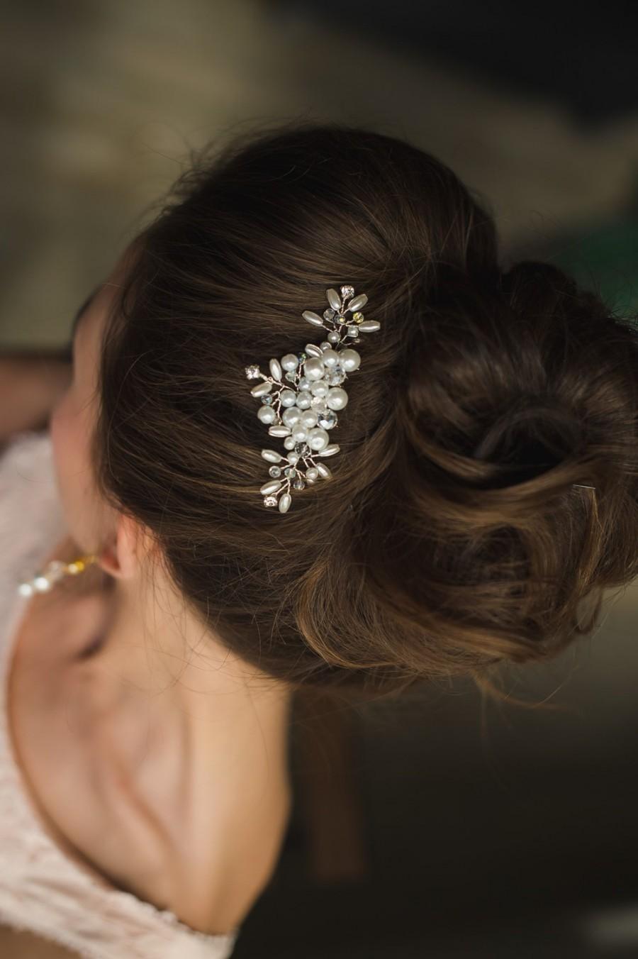Mariage - Bridal Hair Comb, Bridal Headpiece, Hair accessory, Wedding Hair Comb, Bridal hair piece, bridal hair accessory, pearl comb, bridal crown