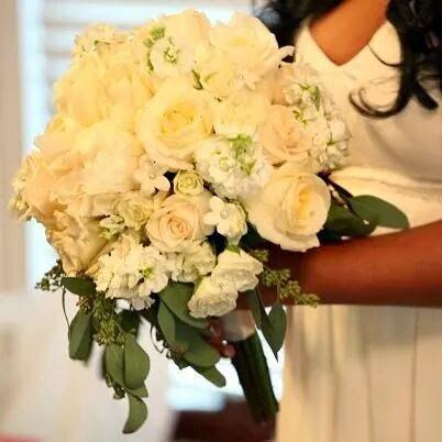 Свадьба - Custom Wedding Package- Fresh Floral Brides Bouqet-Fresh Floral Wedding Centerpieces