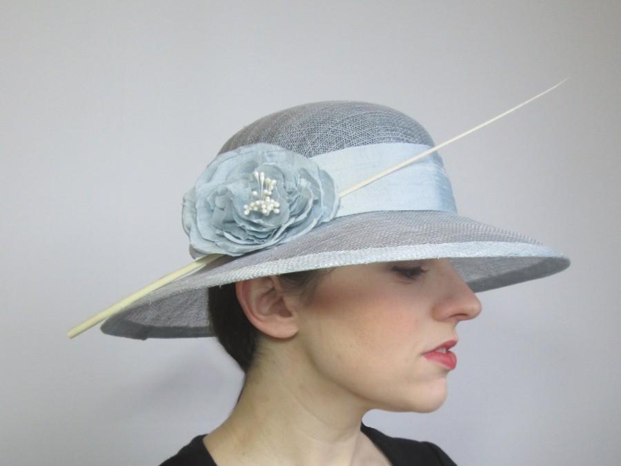 a4582fab950b8 Summer Wedding Hat, Races Hat, Womens Hat, Sinamay Hat, Ladies ...