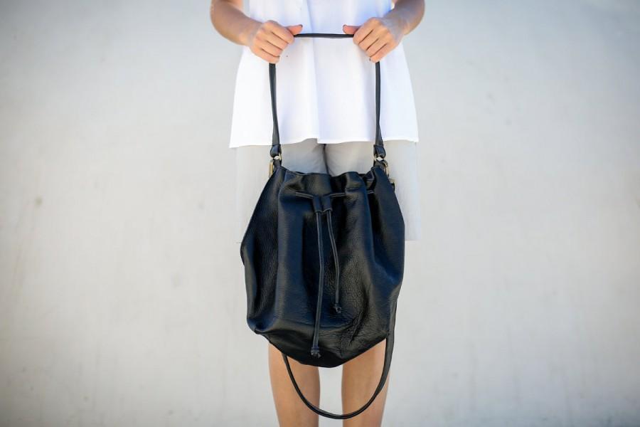 Leather Tote Bag Women Messenger Bag Big Cross Body Leather Bag