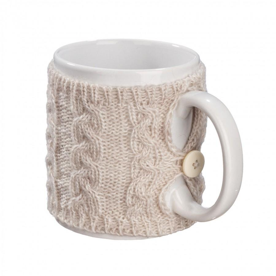 Knitting Pattern For Mug Sweater : Knit Tea Cup Cozy, Coffee Mug Cozy, Knit Cup Sweater ...