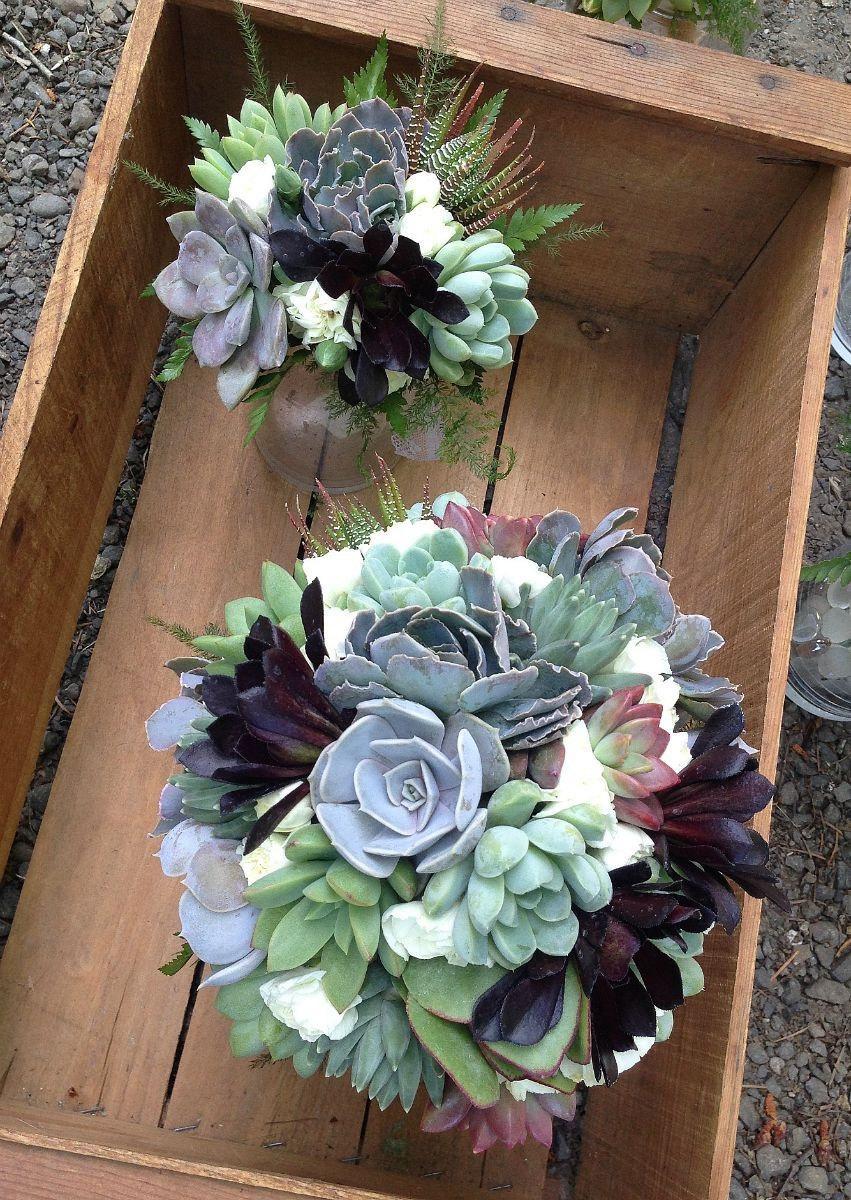 Свадьба - Succulent wedding flowers