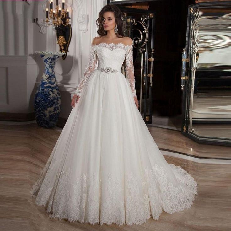 Vestidos de novia en aliexpress