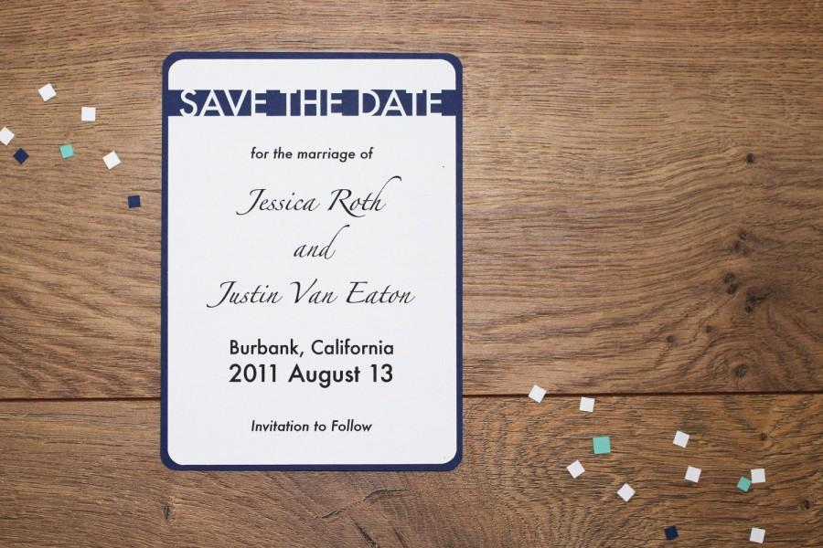 Wedding - Wedding Save The Date - sample