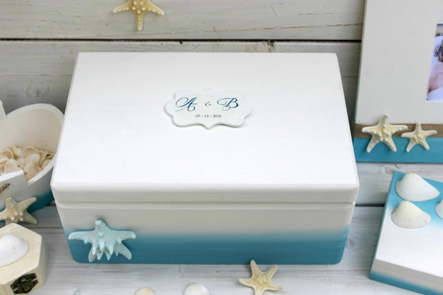 Mariage - Summer Wedding card box, Customized Card Holder, Choose your color