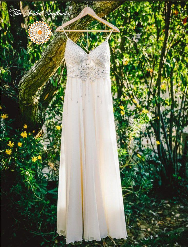 bohemian crystal elegance beach wedding dress 2583329