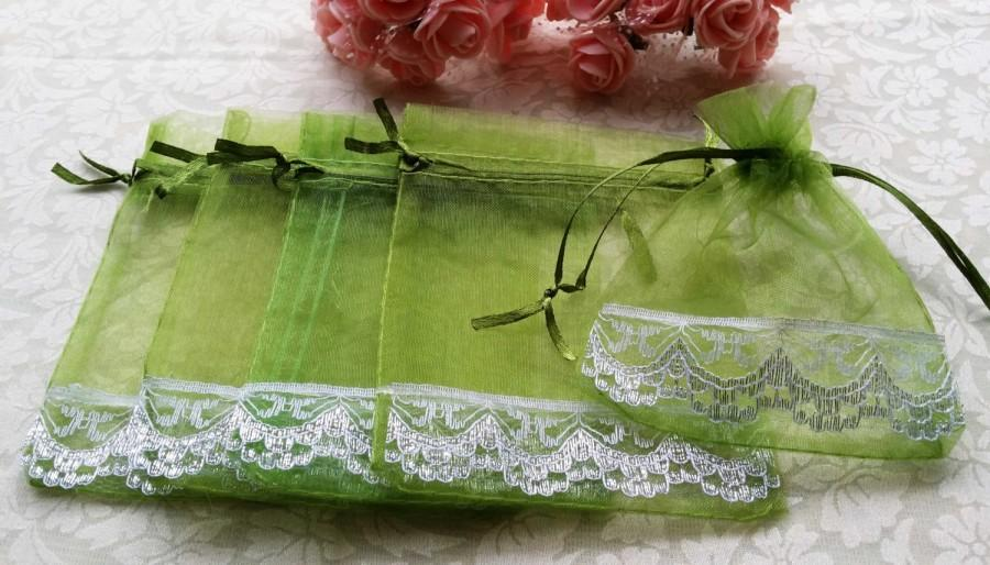 Hochzeit - 20 Organza Bags,Candy Drawstring Bags,Wedding Favor Bags, Christmas Gift Bags,Party Bags,Jewelry Bags