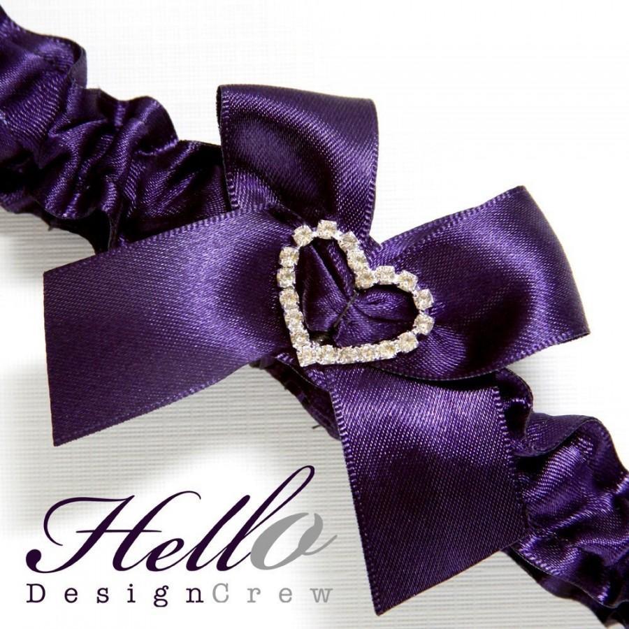 Hochzeit - Wedding Garter, Bridal Garter, Boudoir Garter, Prom Garter - Lapis Garter SINGLE Other Colors Available