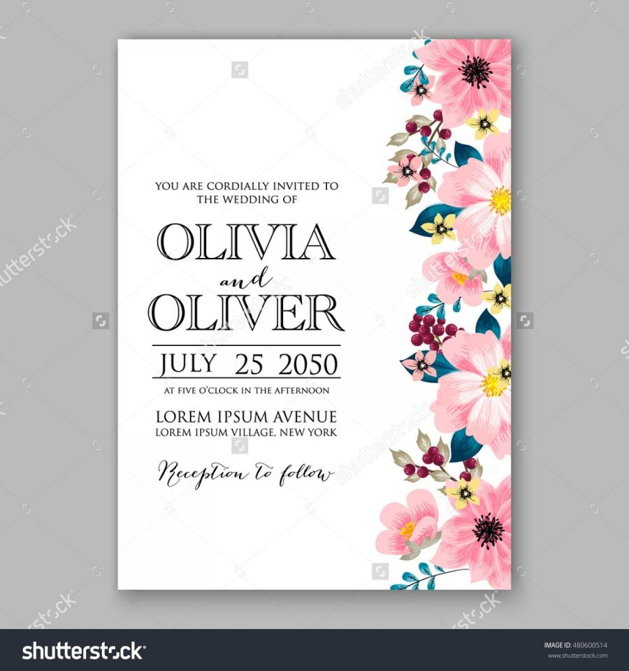 Romantic pink peony bouquet bride wedding invitation template design romantic pink peony bouquet bride wedding invitation template design winter christmas wreath of pink flowers and pine and fir branches ribbon stopboris Image collections