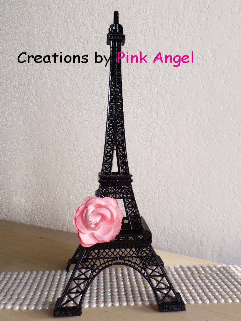 15 Inch Black Eiffel Tower, Eiffel Tower Centerpiece, Paris Wedding ...
