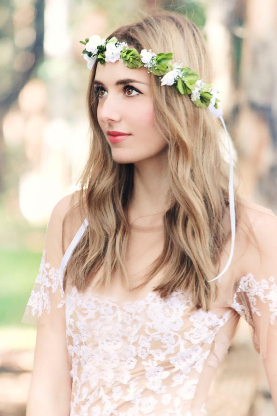 Laurel Wreath Bridal Headpiece Wedding Hair Accessories Flower