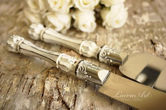 Boda - Rustic Wedding Cake Server Set & Knife Cake Cutting Set Wedding Cake Knife Set Wedding Cake Servers Wedding Cake Cutter Cake Decoration