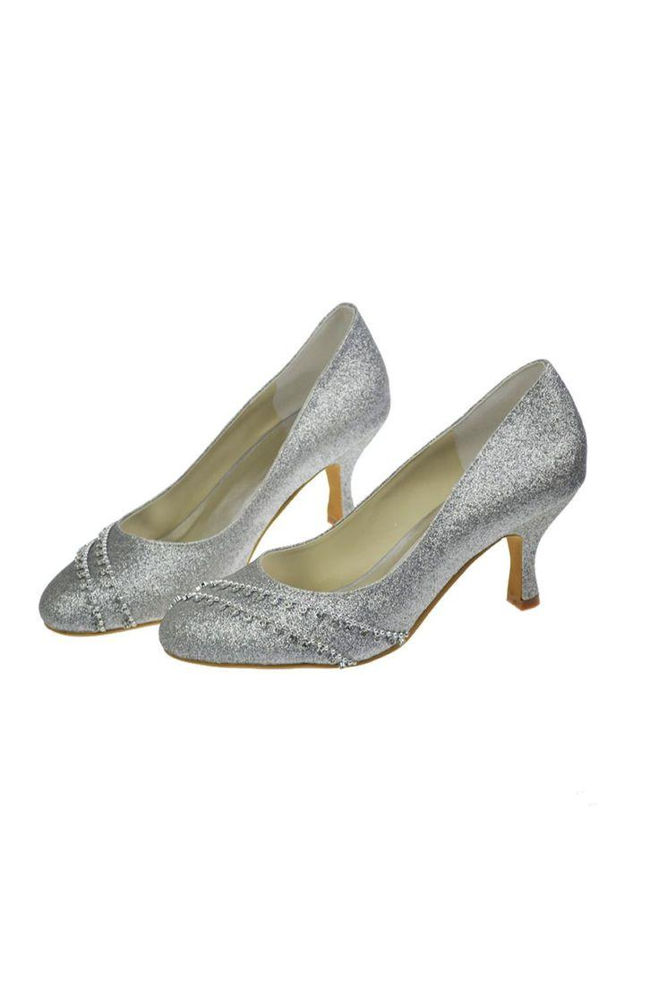 Hochzeit - Charming Sparkly Sequin Shiny Beading Handmade Shoes For Wedding S26