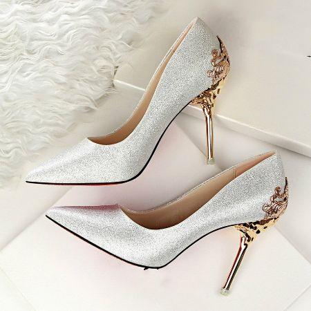 11a79dd52 Fashion Sexy High Heels Shoes With Metal Wedding Shoes  2584097 ...