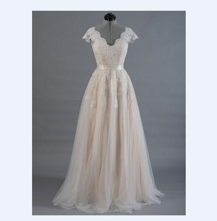 Wedding - Boho Wedding Dress - Bohemian Wedding Dress - Lace Wedding Dress - Boho Prom Dress