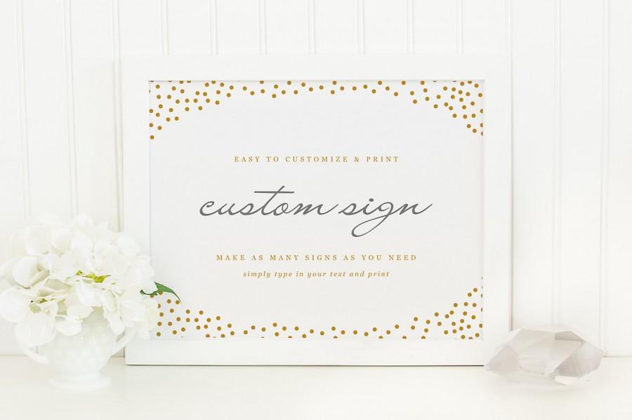 Mariage - DIY Custom Wedding Sign