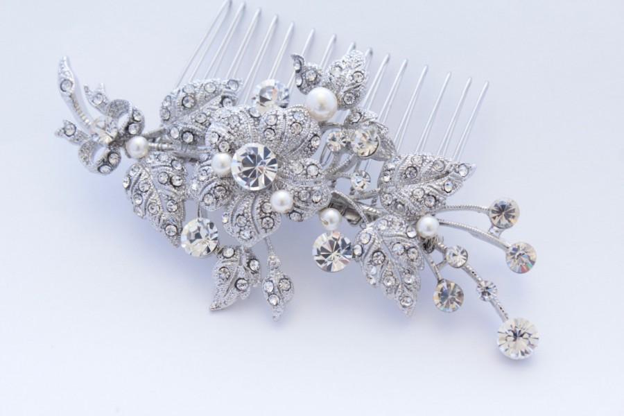 Mariage - Wedding hair comb bridal accessory wedding hair jewelry bridal hair comb wedding headpiece bridal hair piece wedding headpiece bridal comb