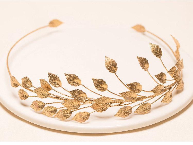 Bridal Golden Crown f3af64cbf9d