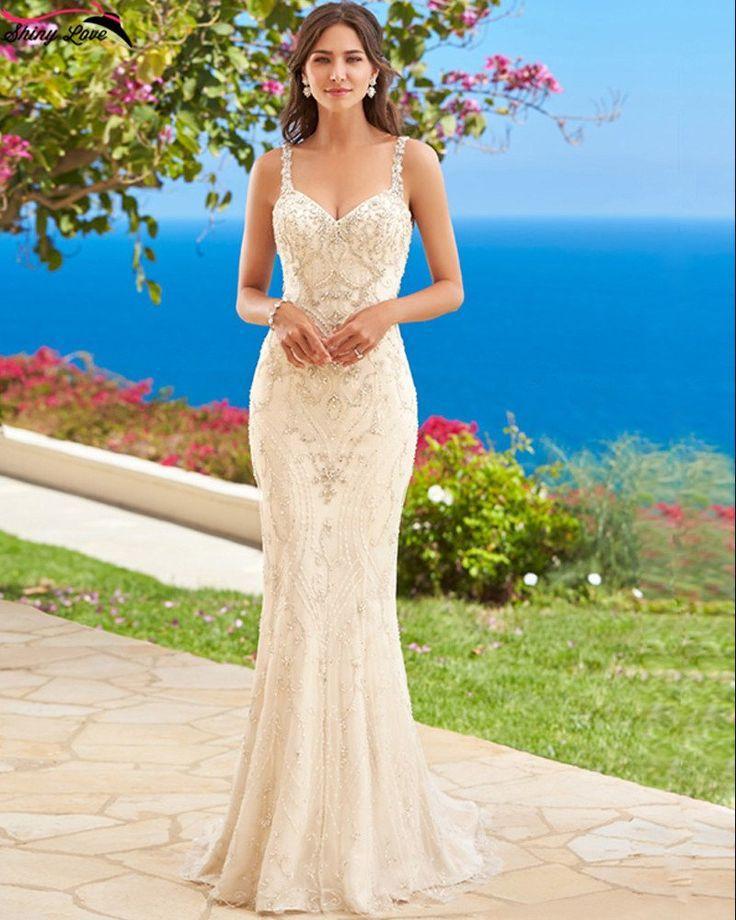 زفاف - Hand Beaded Couture Style Mermaid Wedding Dress :: Autumn Collection