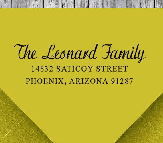 Свадьба - Return Address Stamp, Self Inking Address Stamp, Address Stamp, Wedding Stamp, Custom Address Stamp, Save the Date Stamp