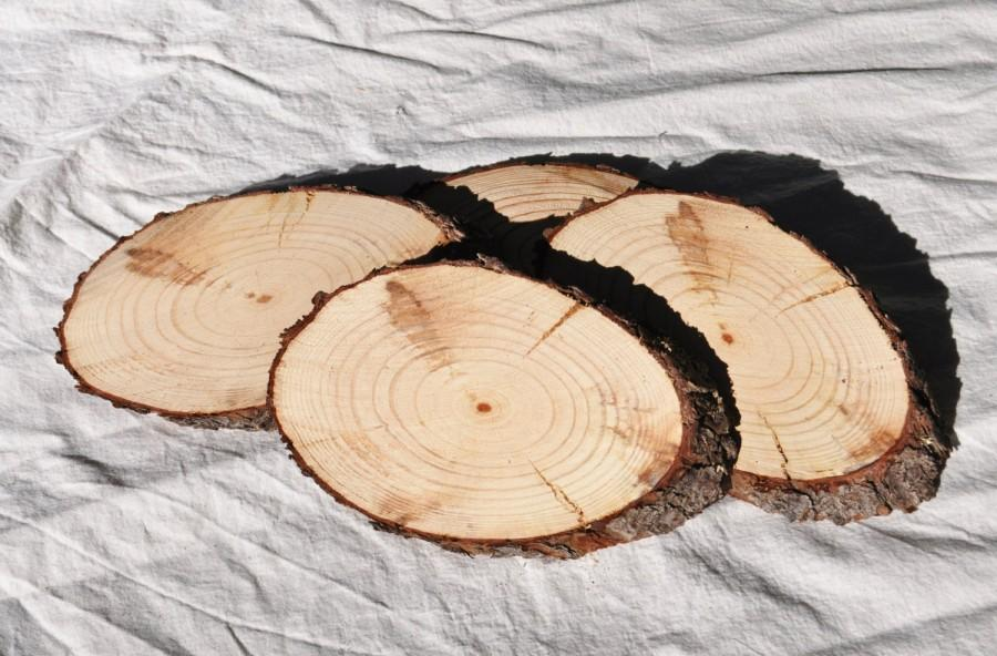 Mariage - 6 Inch Wood Slices, Oblong Wood Slices, Large Wood Slices, Pine Slices, Tree Slices, Rustic Wedding Slices