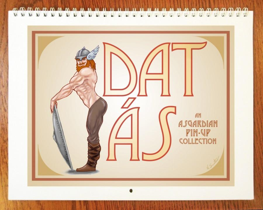 Dat s Pin Up Calendar 8 5 x11 12 Month Wall Calendar Guide to the gods. You Didn39t Know You