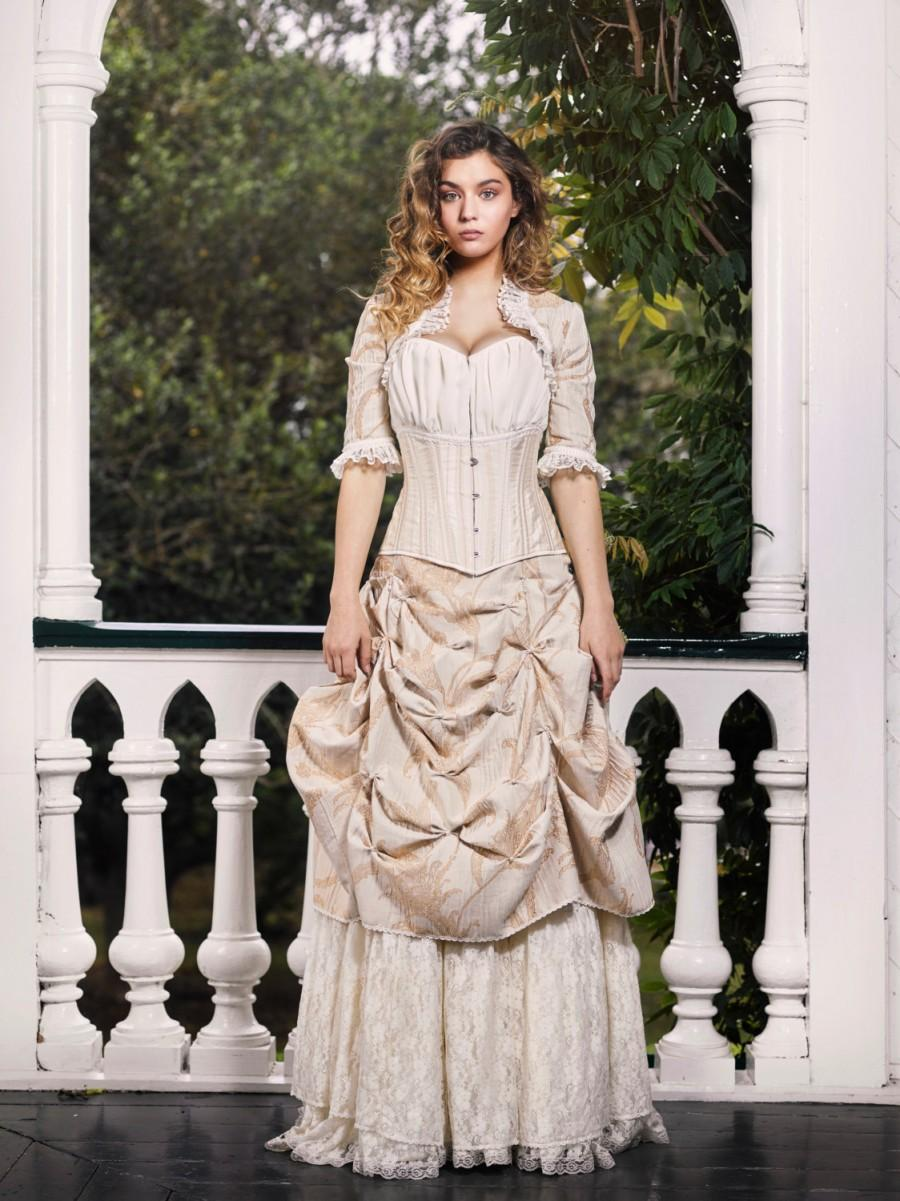 Sample Sale Victorian Wedding Dress Skirts And Bolero 2585308