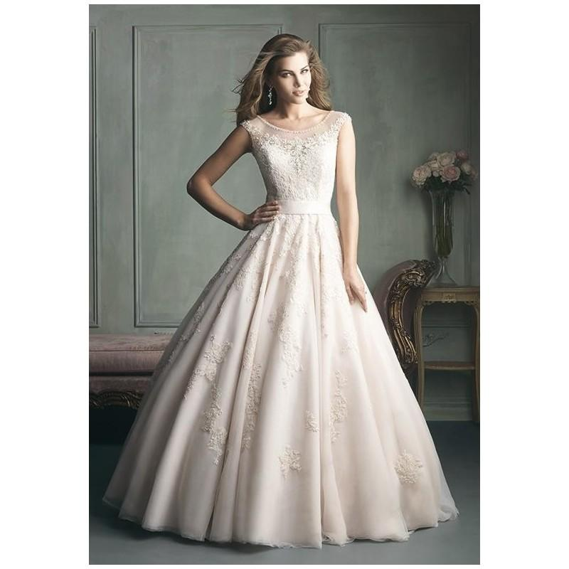 Allure bridals 9114 wedding dress the knot formal for Wedding dresses the knot
