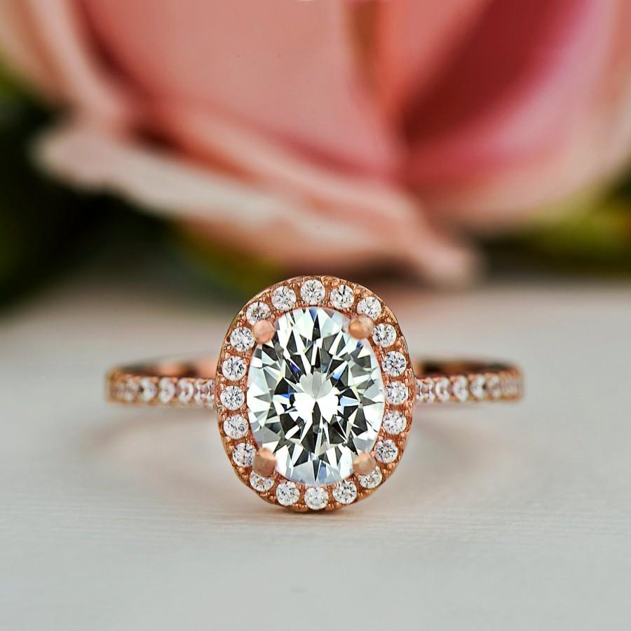 engagement ring promise pin made deco art bridal round set diamond simulants man ct solitaire