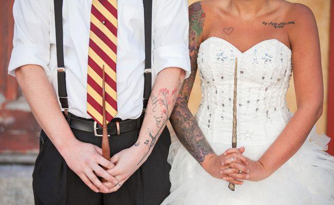 Mariage - I Went To A Harry Potter-Themed Wedding — And It Was Awesome!
