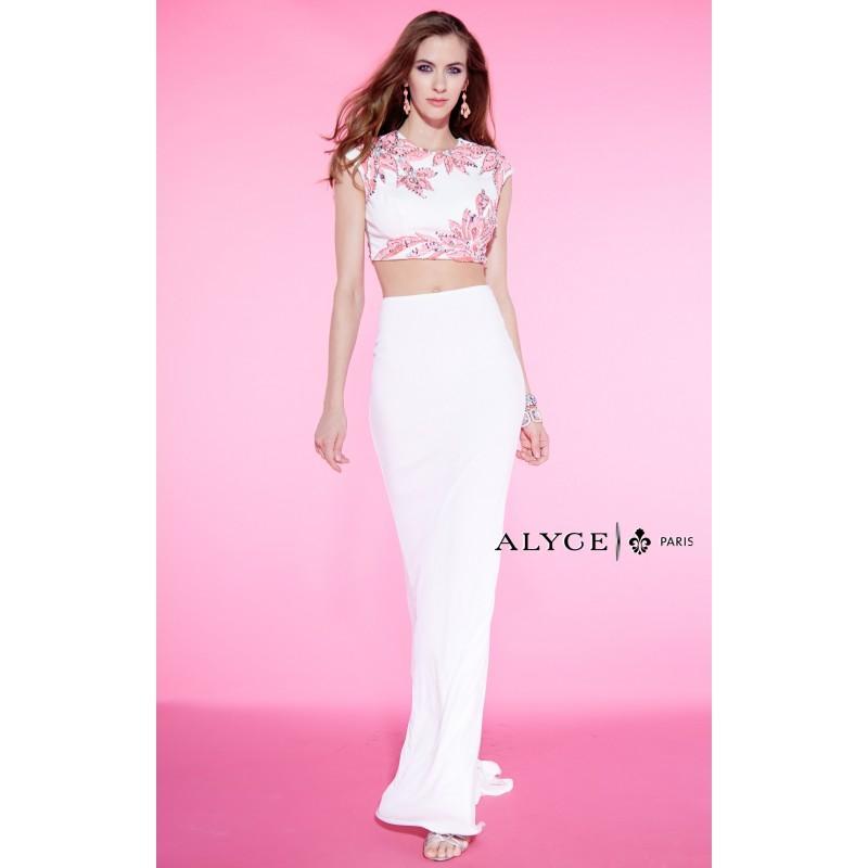 Свадьба - Alyce Paris - 6450 - Elegant Evening Dresses