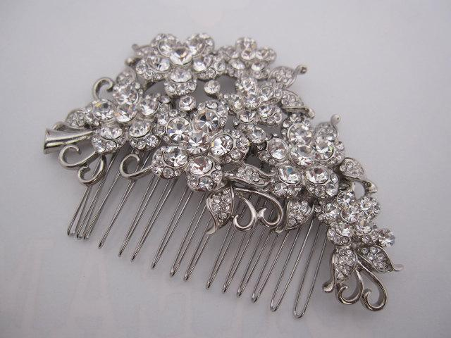 Свадьба - Bridal  hair comb wedding headpiece bridal hair accessory wedding hai jewelry bridal comb wedding hair comb bridal hair piece wedding comb
