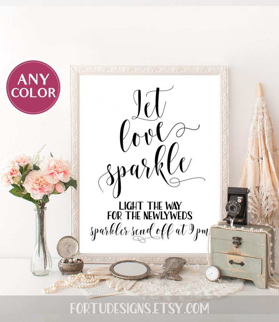 Sparklers For Wedding.Sparkler Send Off Sign Custom Wedding Sign Sparkler Sendoff Sparkler