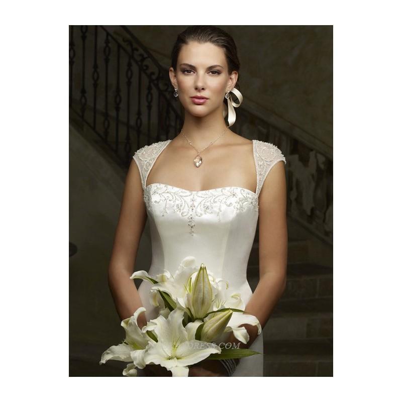 Wedding - Casablanca 1901 Bridal Gown (2011) (CB08_1901BG) - Crazy Sale Formal Dresses