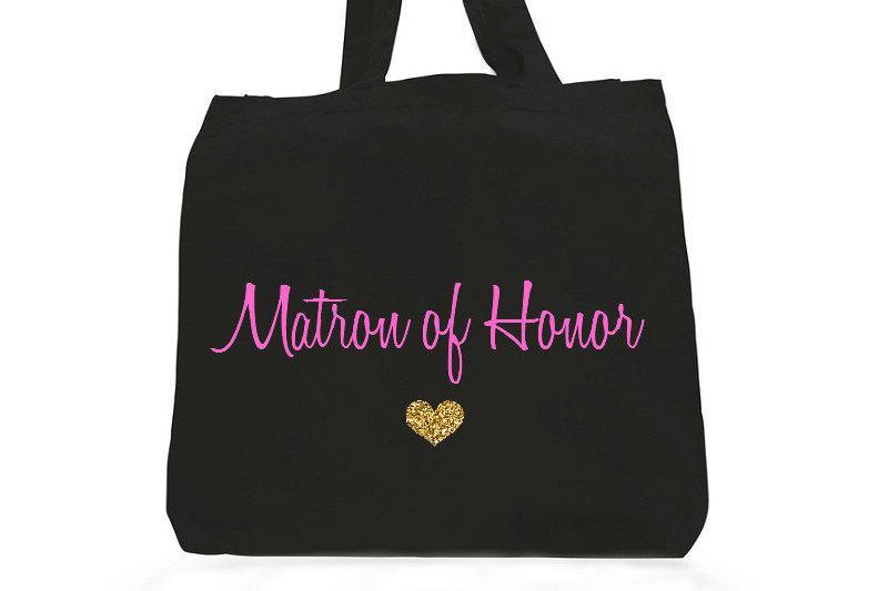 زفاف - Matron of honor gifts, matron of honor mementos,matron of honor tote bag,gifts for matron of honor