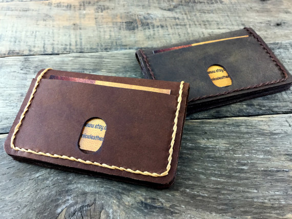 dcb3032433a2 Minimalist Leather Wallet