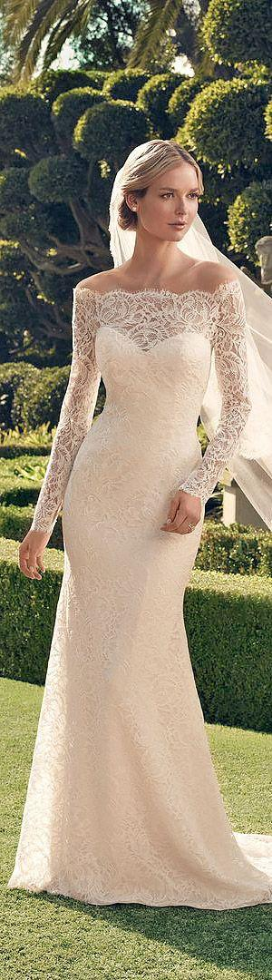 Wedding - 21 Lace Wedding Dresses That You Will Absolutely Love