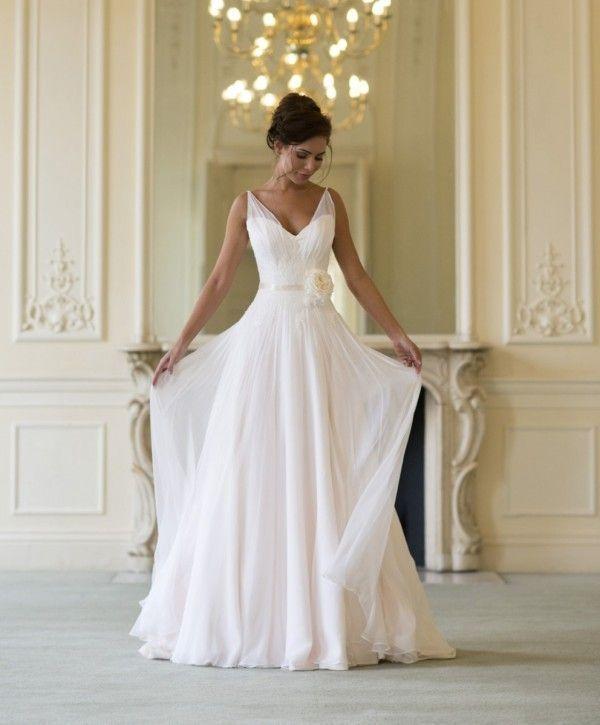 Wedding - Vestido De Noiva Evasê Ou A-line