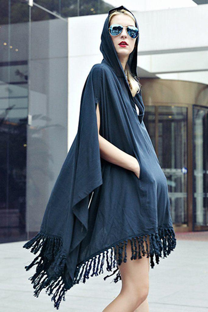 Mariage - Good Sewing Come Hooded Poncho