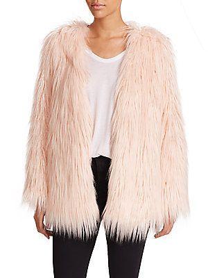Mariage - Tart Rella Faux Fur Coat