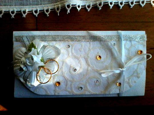 زفاف - Wedding Gift Card Holder, Wedding Money Card Holder, Wedding Money Gift Envelope, Cash Envelope, Anniversary Gift Card Holder