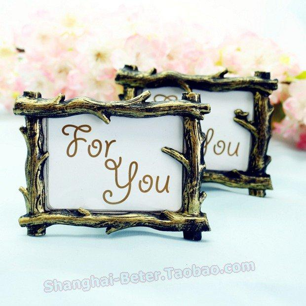 Beter Gifts® Rustic Tree Branch Place Card Picture Frame Favors ...