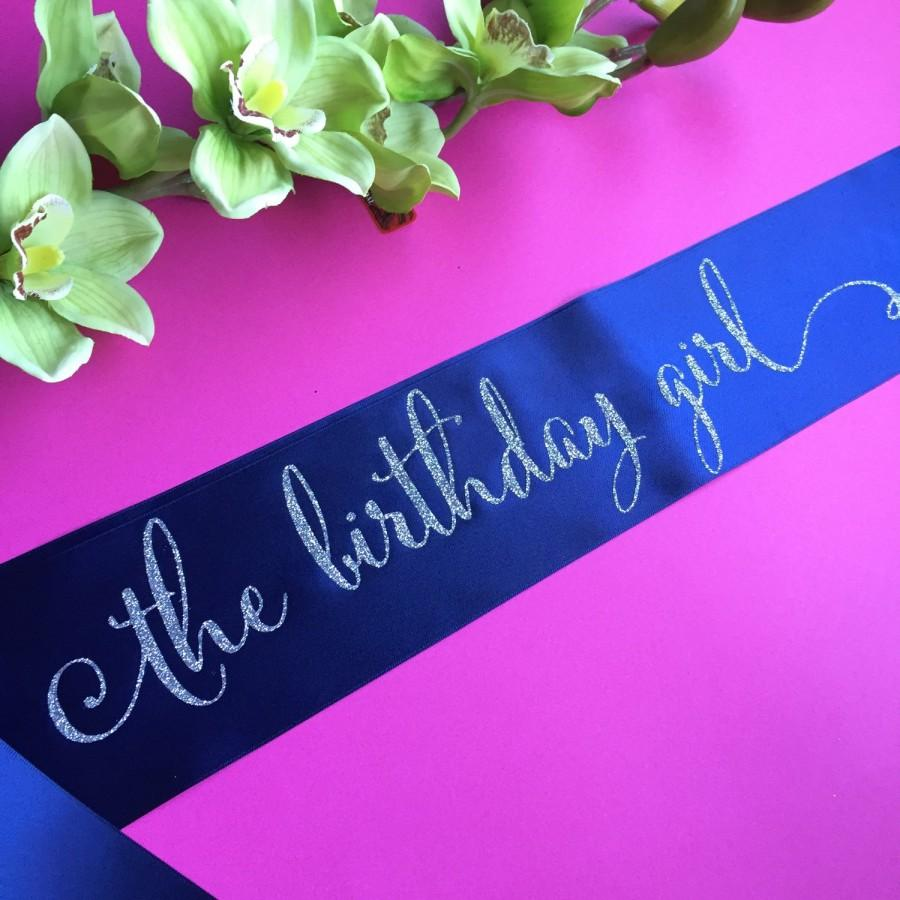 birthday girl the birthday girl birthday girl sash party sash