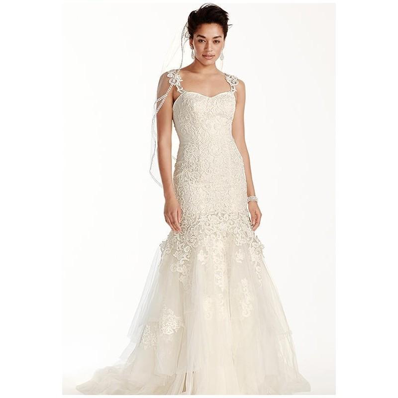 Свадьба - Oleg Cassini at David's Bridal Oleg Cassini Style CWG709 Wedding Dress - The Knot - Formal Bridesmaid Dresses 2016